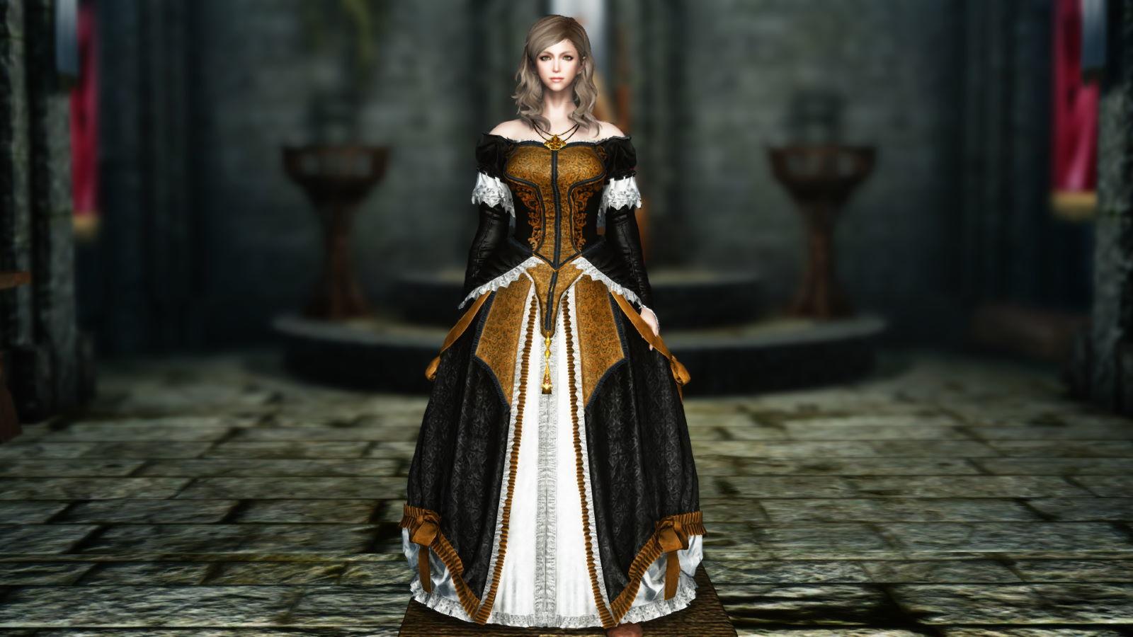FullInuEliseDressSK 210-1 Pose Dress 1