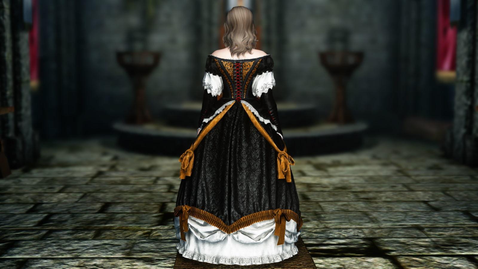 FullInuEliseDressSK 211-1 Pose Dress 1