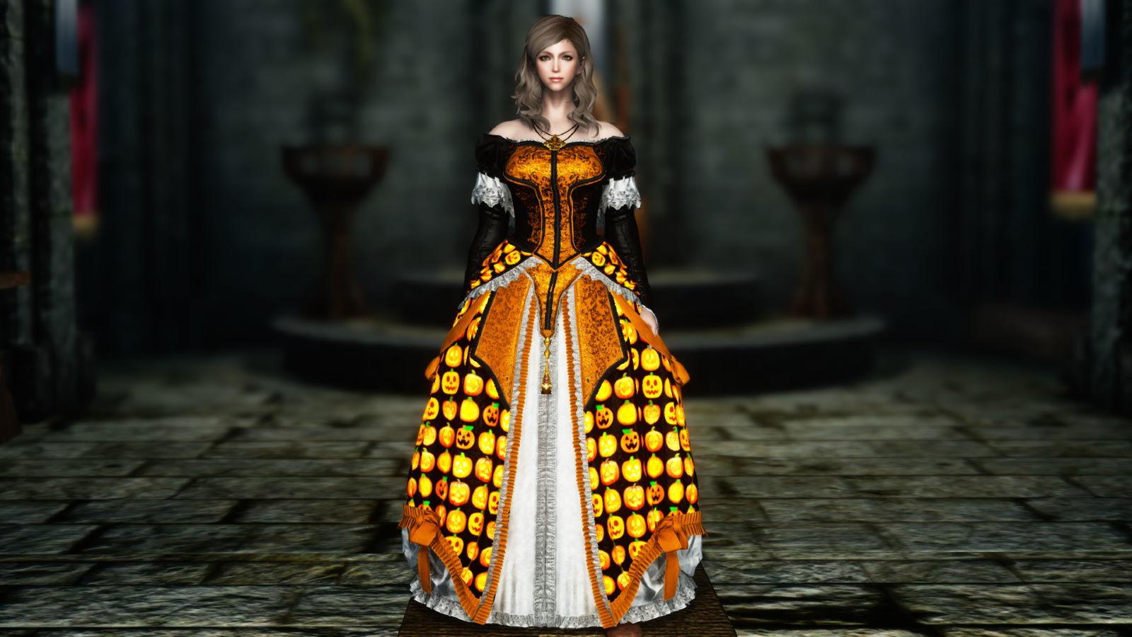 FullInuEliseDressSK 250-1 Pose Dress Halloween 1