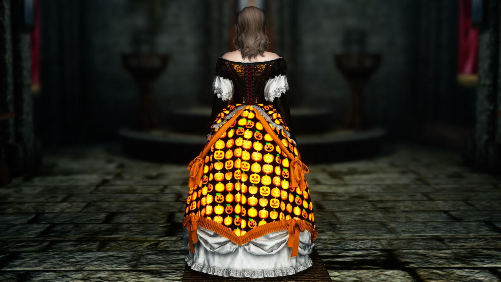 FullInuEliseDressSK 251-1 Pose Dress Halloween 1
