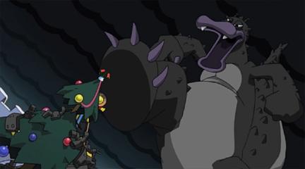 アンパンマンとゴミラの城のクリスマス