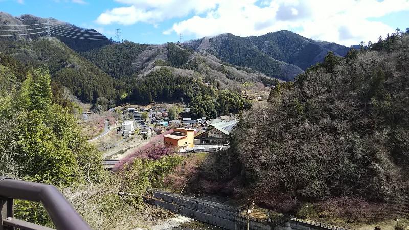 合角ダムからの景色202003
