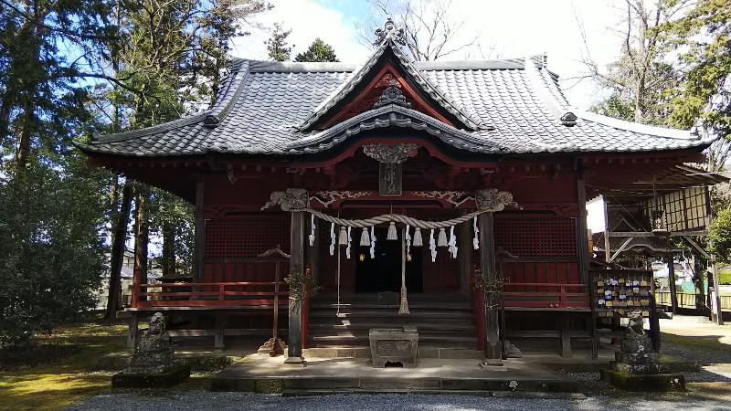 椋神社拝殿202003