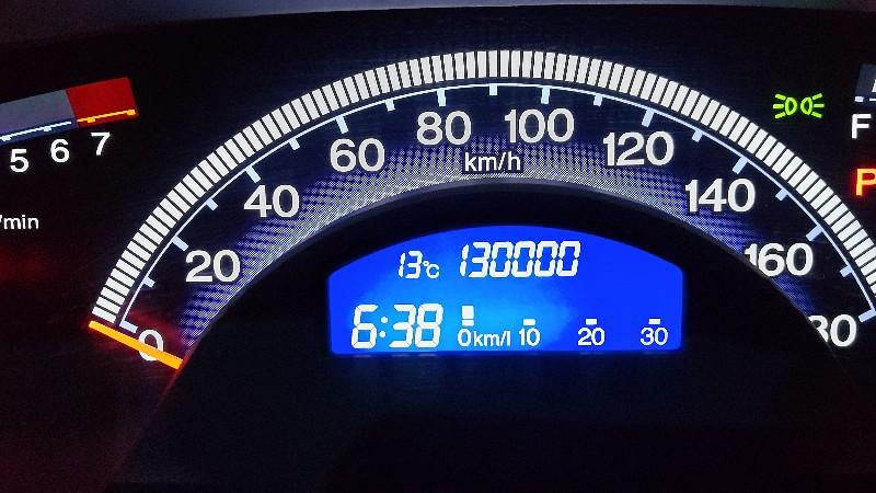 フリードスパイク130,000km20210406