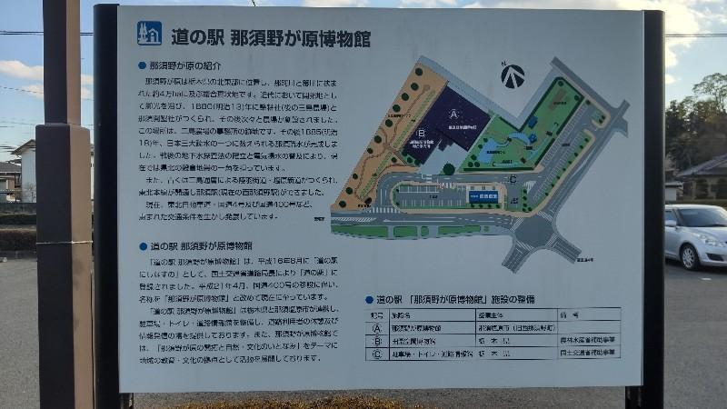 道の駅那須野が原博物館案内図202104