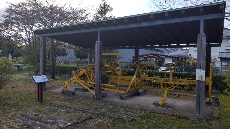道の駅那須野が原博物館農機具202104