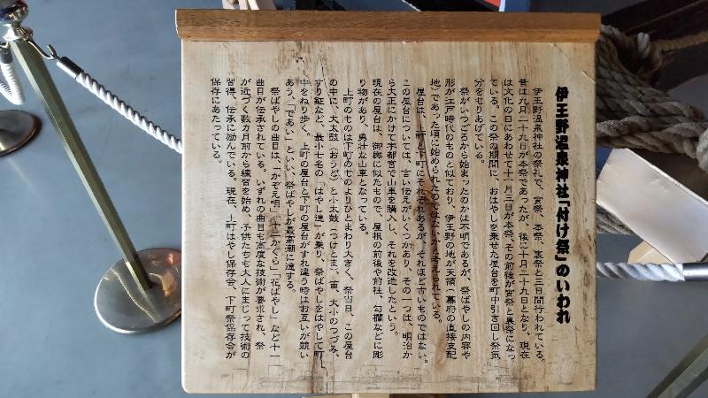 道の駅東山道伊王野⑦伊王野温泉神社「付け祭」のいわれ202104