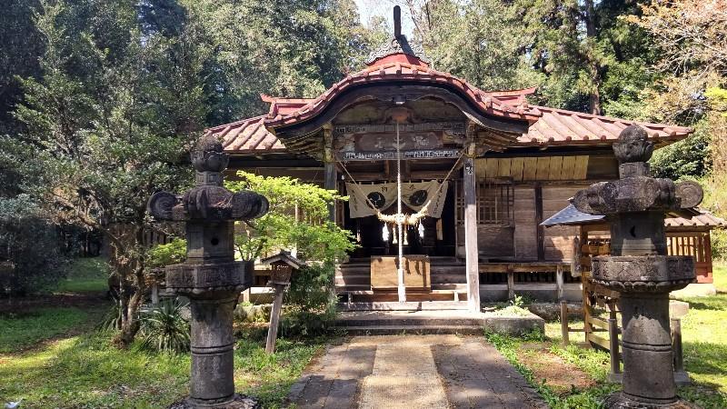 那須神社拝殿202104
