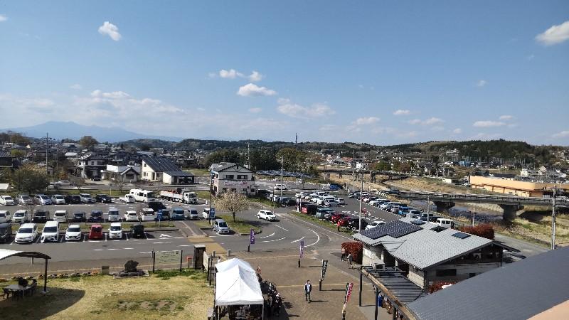 道の駅きつれがわ本館からの景色202104