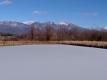 ため池と浅間