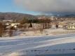 朝の雪景色②