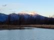 夕陽の浅間山