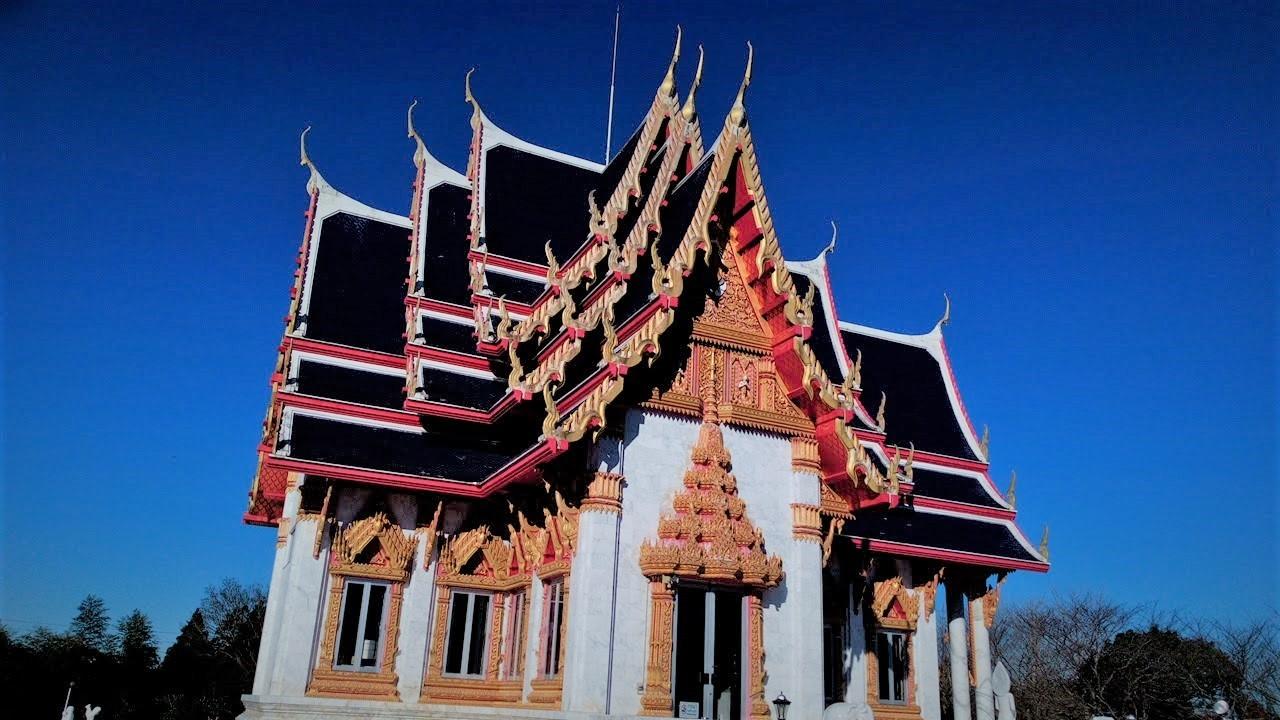 ワットパクナム(千葉県成田市)タイのお寺/本殿外観