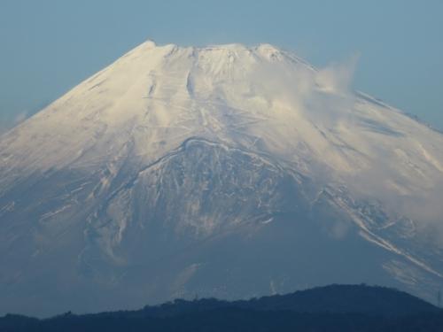 ようやくが雨が降り、雪景色、富士山(^O^)/2020.12.28