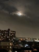 雨雲とお月さまIMG_0659