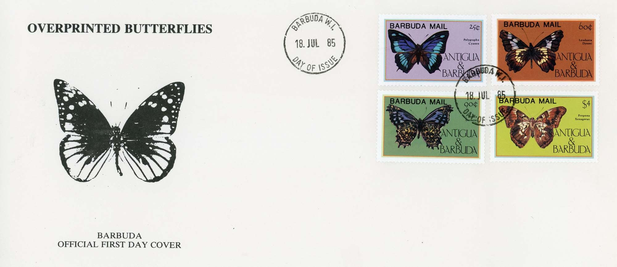 Barbuda:1985FDC-1