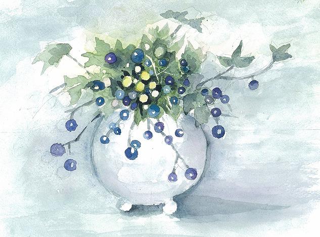 s-青い実の花
