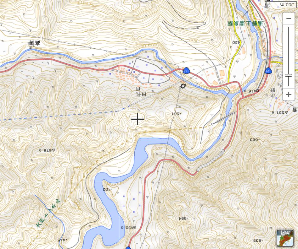 湯野上駅地図