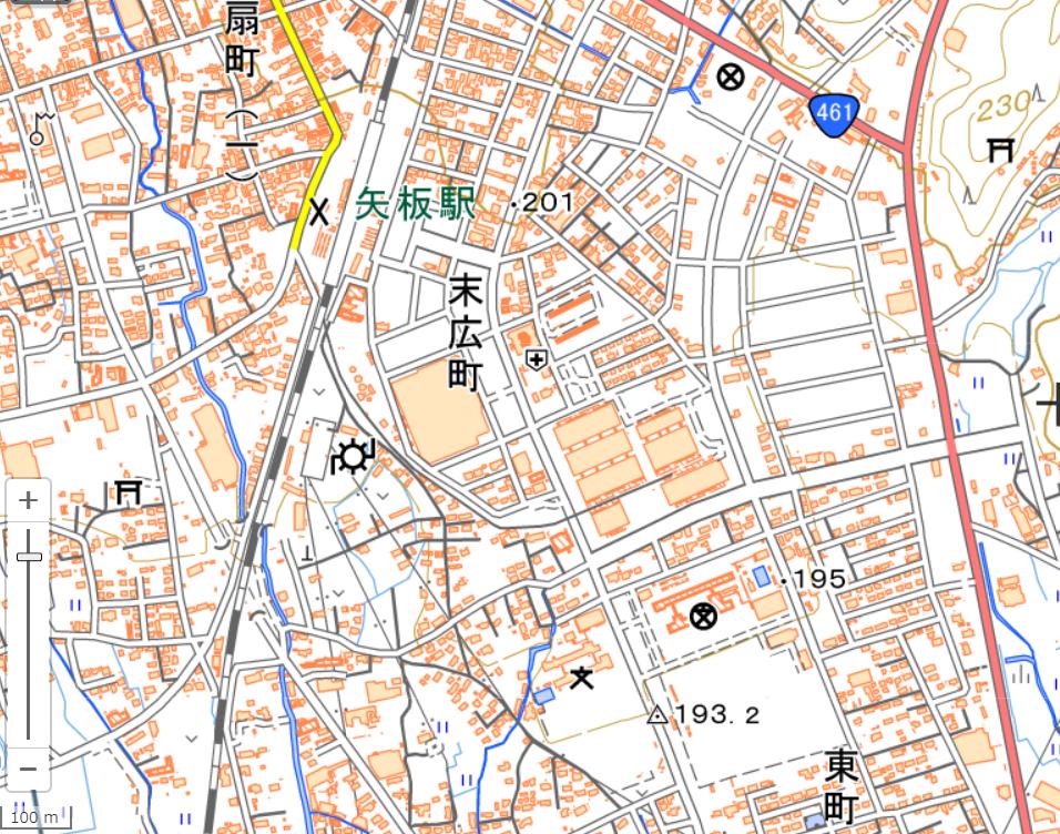 矢板地図png