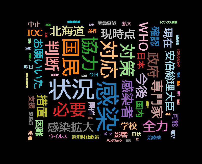 ニュース「安倍首相記者会見」20200314(土) 1800~ 生中継