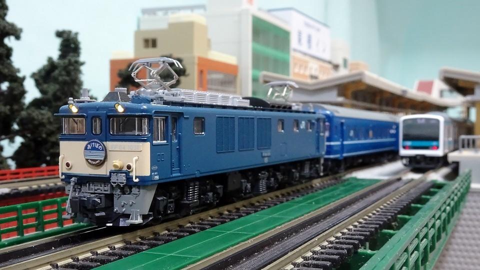 24系寝台特急「あけぼの」 EF64-1000