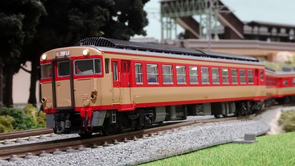 キハ91系急行「きそ」 - ビスタ模型鉄道(エヌゲージ日記)