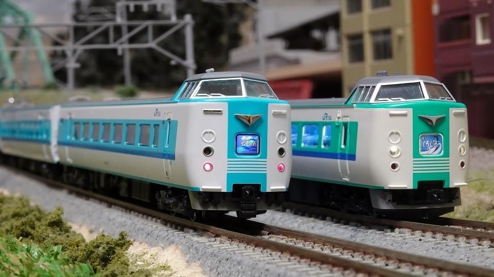 KATO 381系 「スーパーくろしお」(リニューアル編成) 発売