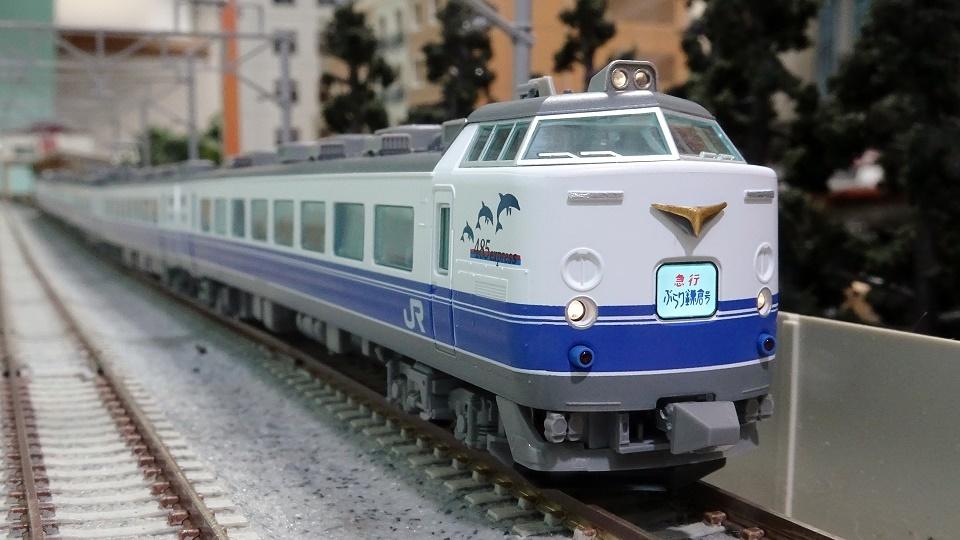 JR 485-1000系電車(勝田車両センター・K60編成)