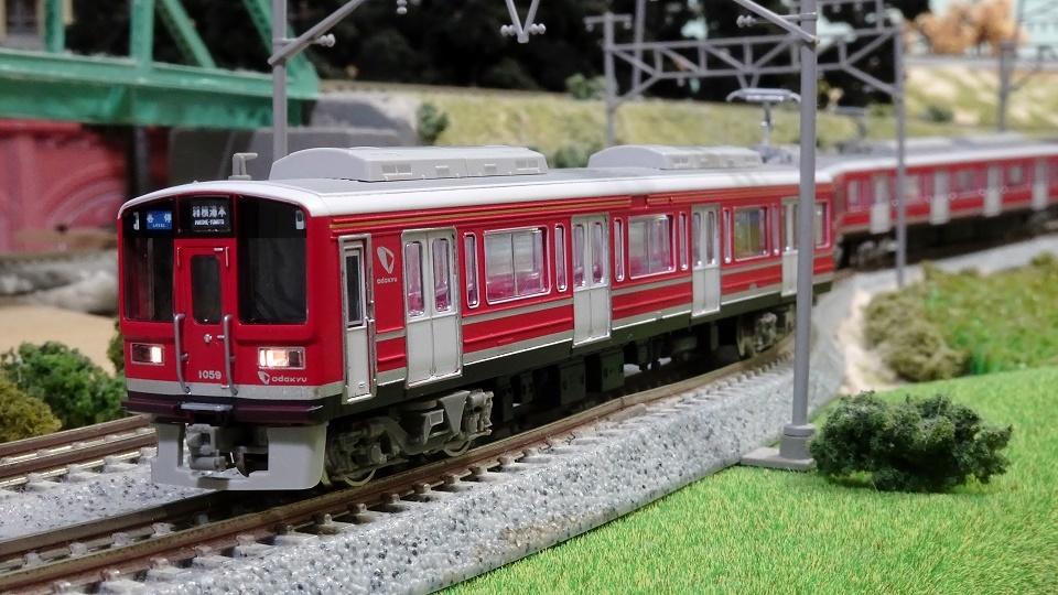 小田急 赤い1000系
