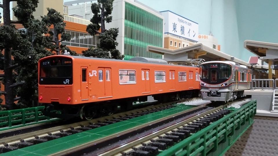 323系 201系 大阪環状線