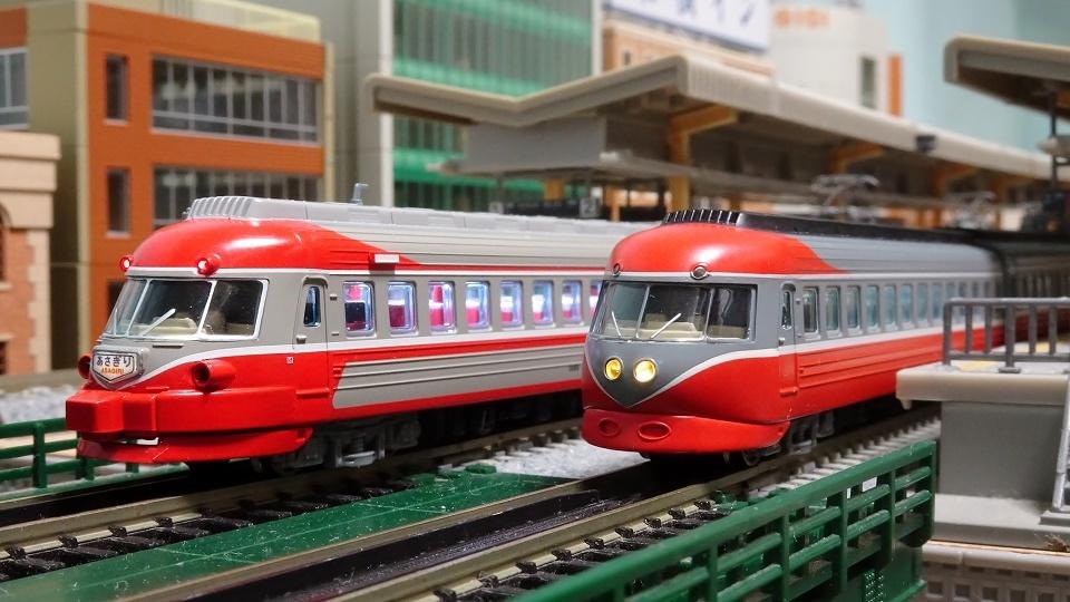 小田急3000形 SEとSSE更新車