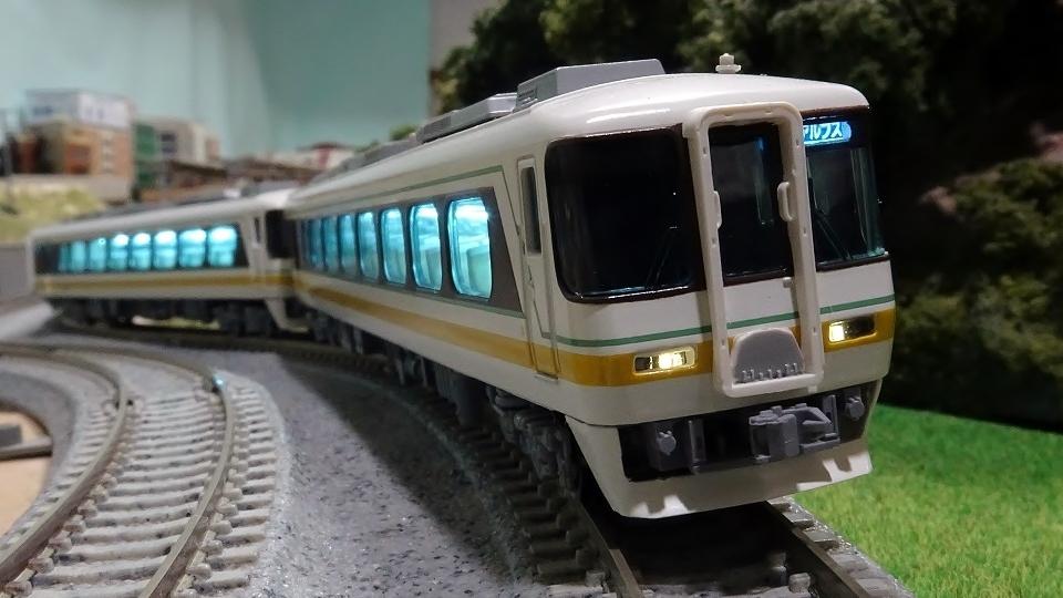 名鉄キハ8500系 特急「北アルプス」