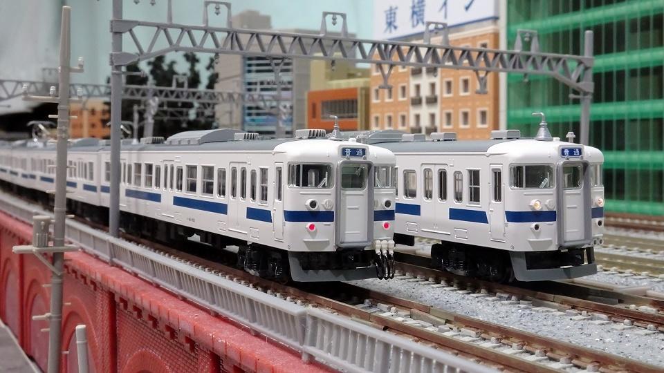 415系 常磐線・新色 検電アンテナ交換