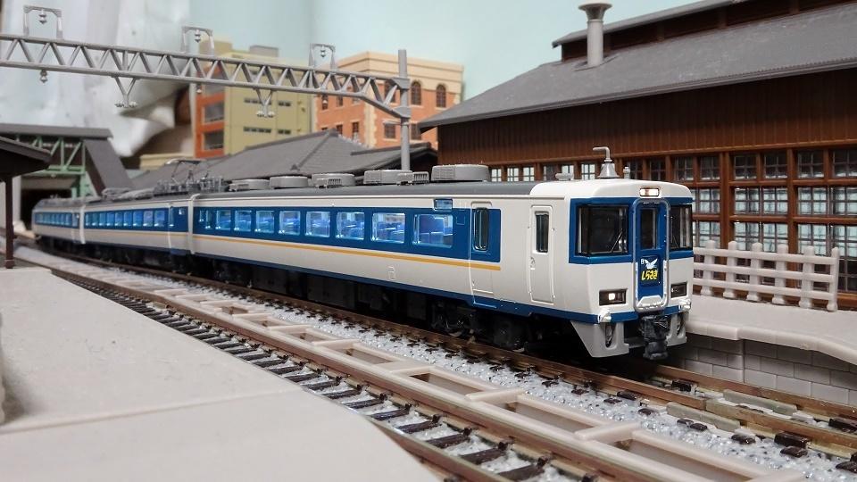 JR 485系特急電車(しらさぎ・新塗装) セットC