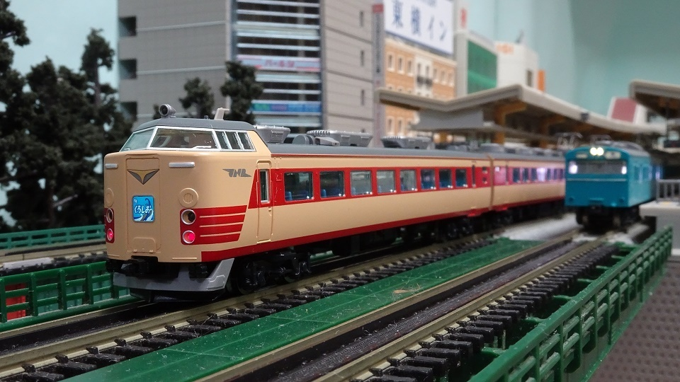 TOMIX 国鉄 485系特急電車(くろしお)セット