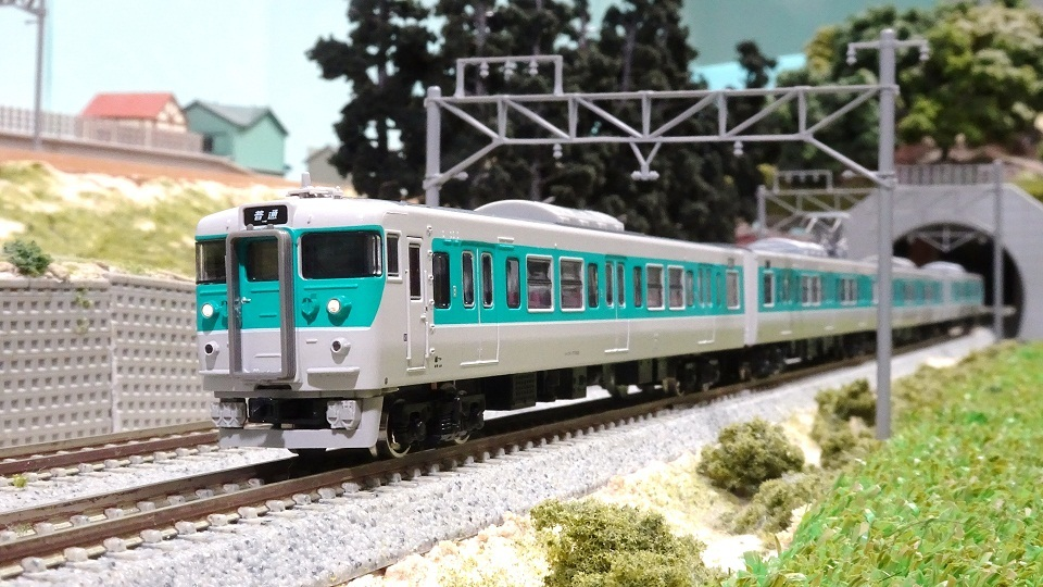 JR113系7700番台 40N小浜線色W1編成
