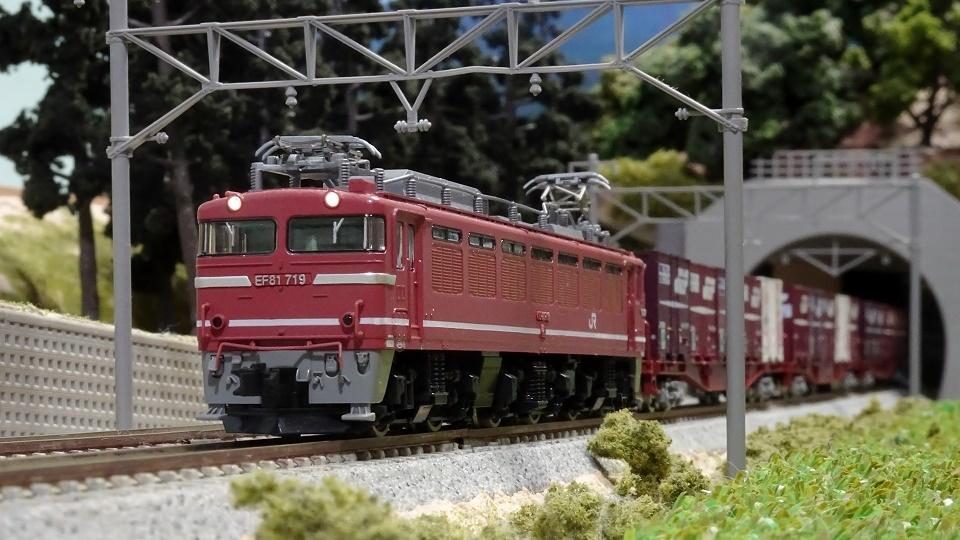 JR EF81-600形電気機関車(JR貨物更新車)