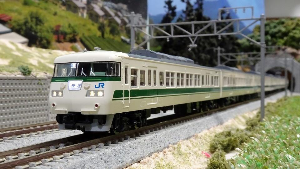 JR 117-300系近郊電車(福知山色)セット