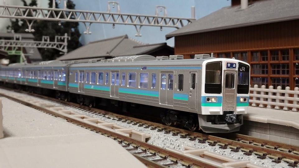 JR 211-0系近郊電車(長野色)セット
