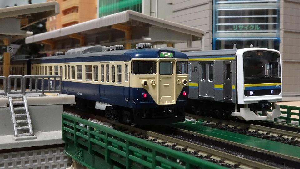 JR 113-2000系 横須賀色・幕張車両センター114編成