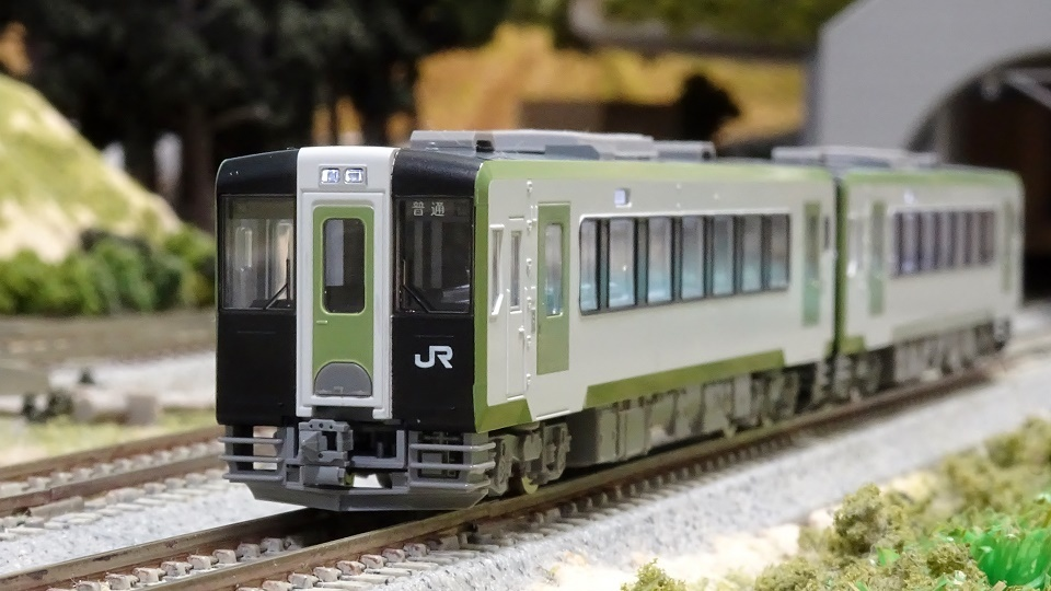 JR キハ100形ディーゼルカー(試作車・登場時)