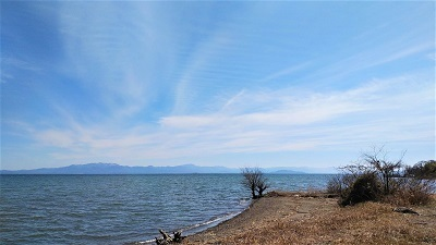 2021 3 びわ湖と空