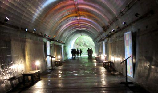 ⑪「神戸森林植物園のトンネル」