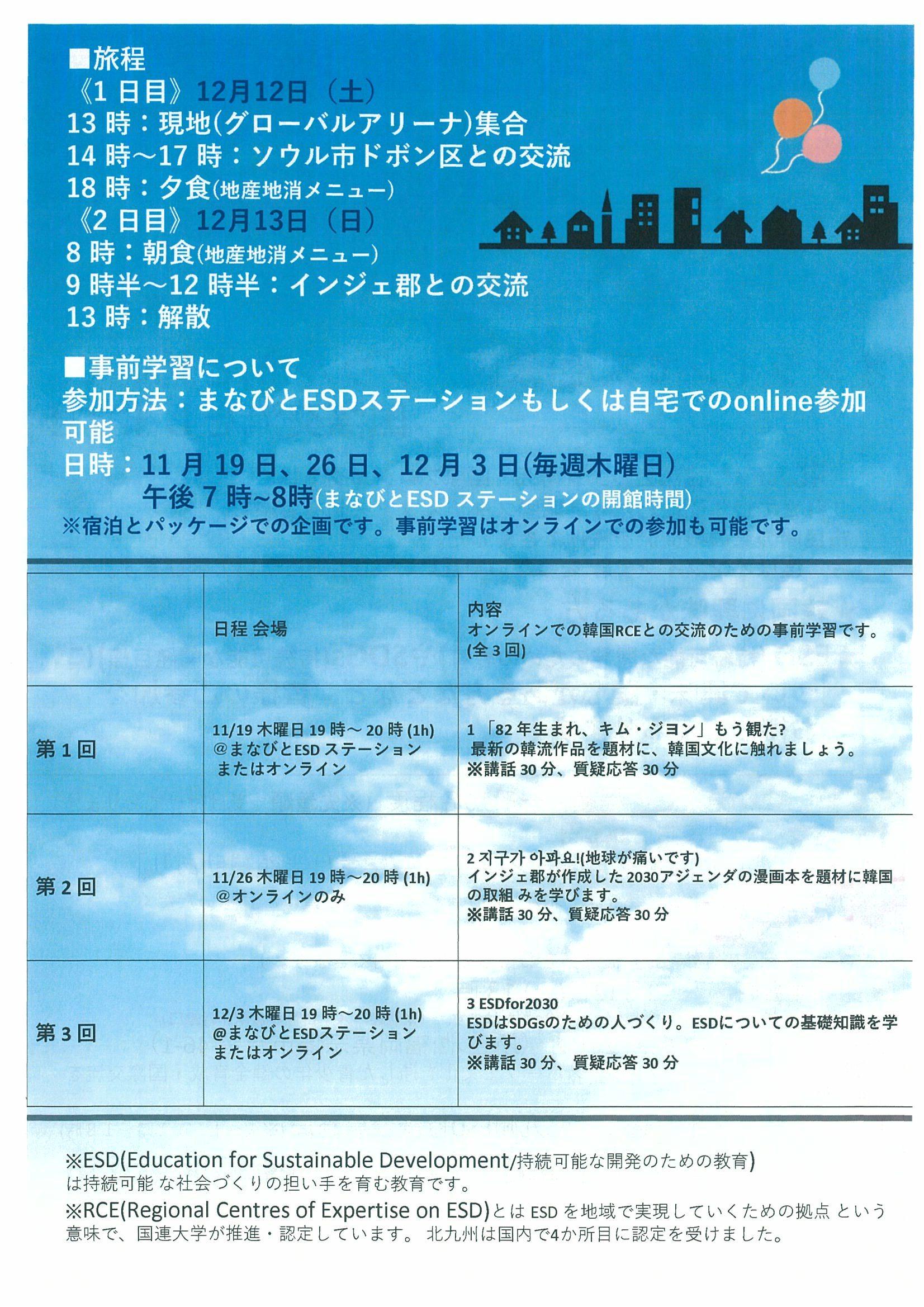 韓国スタディツアー2020-1