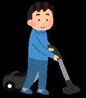 キャニスター付きの掃除機